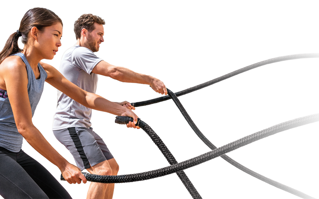 Personal Trainera Battle rope